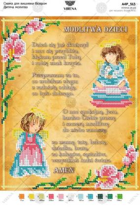 Modlitwa dziecięca A4P-513-PL  VIRENA