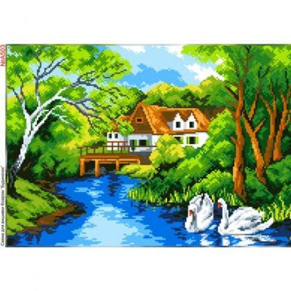 Будинок біля річки А503 Biser-Art