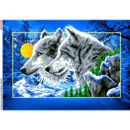 Вовки А505 Biser-Art