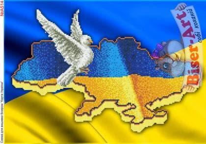 Карта України А514 Biser-Art