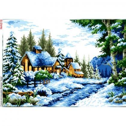Зима А519 Biser-Art