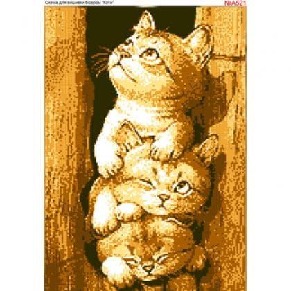 Котики А521 Biser-Art