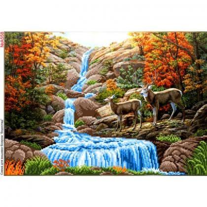 Водоспад А558 Biser-Art