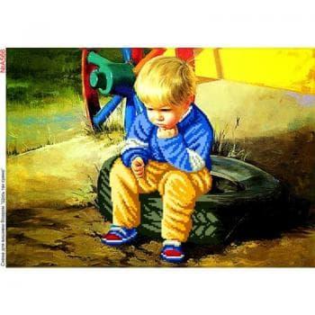 Хлопчик в задумі