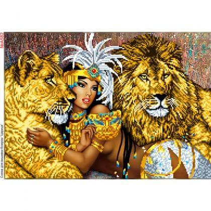 Покорителька левів А582 Biser-Art