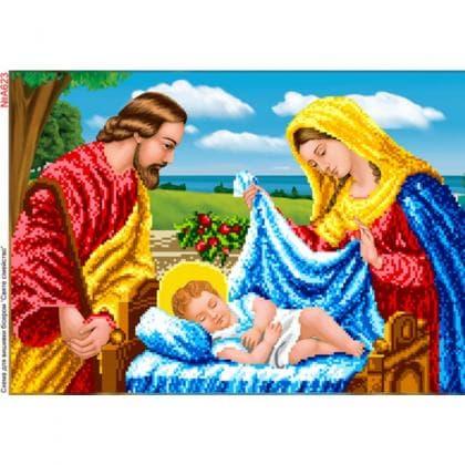 Ісус  в колисці А623 Biser-Art