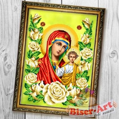 БМ Казанська в трояндах А679 Biser-Art