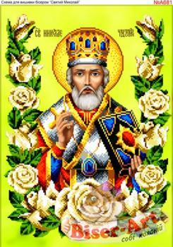 Св. Миколай в трояндах