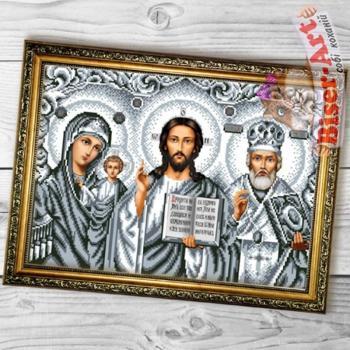 Іконостас срібний