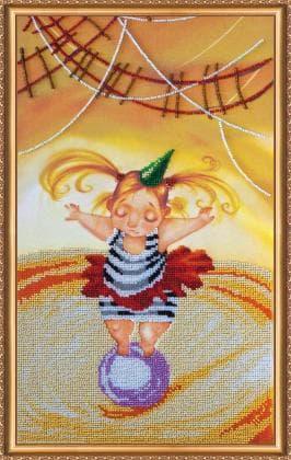 Дівчинка на кулі АВ-380 Абрис Арт