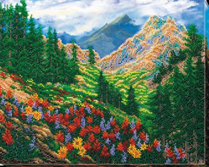 Гiрський пейзаж АВ-561 Абрис Арт