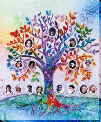 Сімейне дерево АВ-698 Абрис Арт