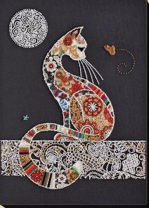 Кішка і метелик АВ-794 Абрис Арт
