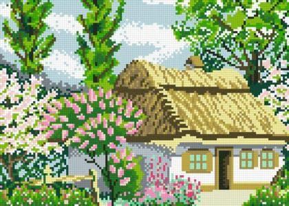Весна АМП-126 Алмазна мозаїка IF