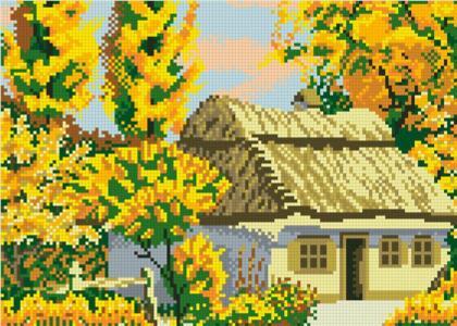 Осінь АМП-128 Алмазна мозаїка IF