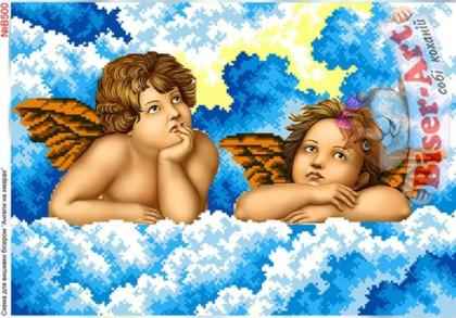 Ангели в хмаринках В500 Biser-Art