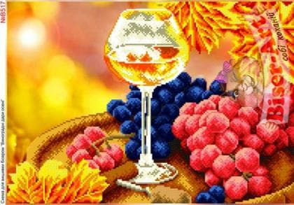 Червоний виноград В517 Biser-Art