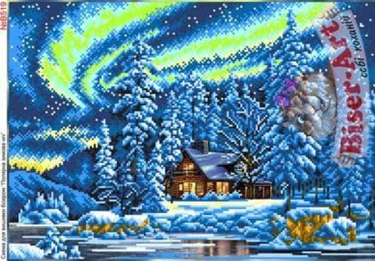 Полярна зимова ніч В519 Biser-Art
