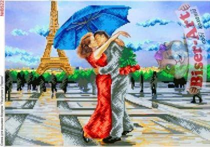 Поцілунок в Парижі В522 Biser-Art