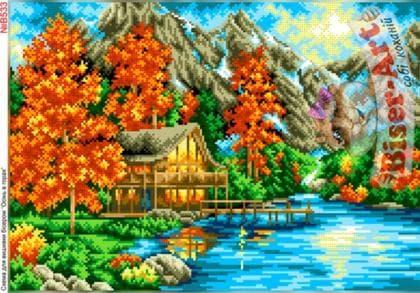 Осінь в горах В533 Biser-Art