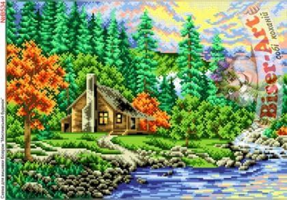 Мисливський будинок В534 Biser-Art