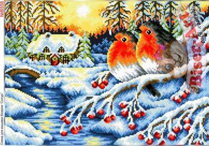 Снігурі В558 Biser-Art