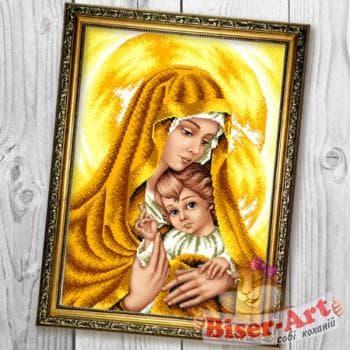 Мадонна з немовлям (золото)