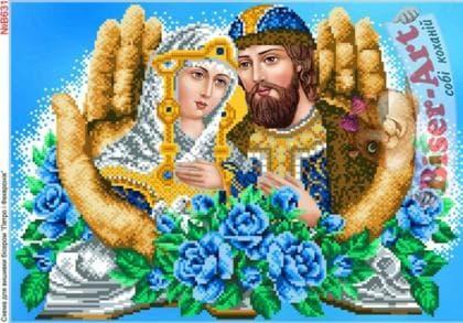 Петро і Февронія в долонях В631 Biser-Art