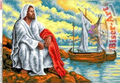 Ісус на березі моря В643 Biser-Art
