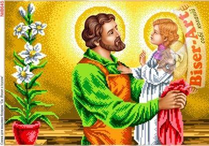 Св. Йосип з Ісусом В645 Biser-Art
