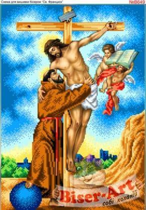 Святий Франциск В649 Biser-Art