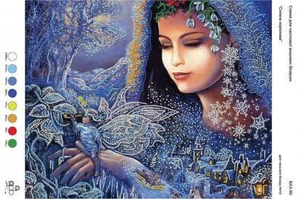 Снігова королева А3-080 Вишиванка
