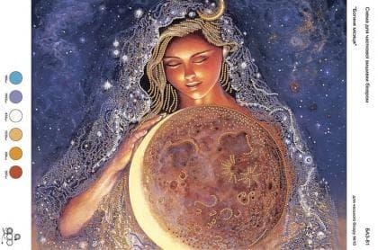 Фея місяця А3-081 Вишиванка