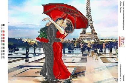 Побачення в Парижі А3-469 Вишиванка