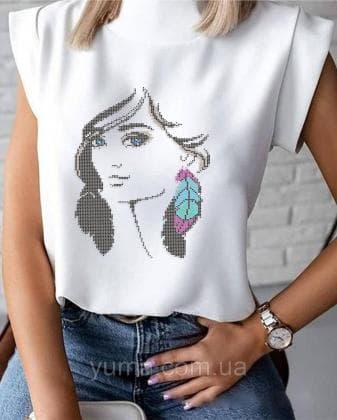 Пошита жіноча блузка  Лілея БЛ-24 ЮМА