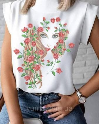 Пошита жіноча блузка  Лілея БЛ-25 ЮМА