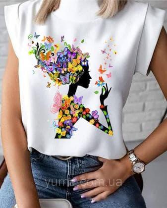 Пошита жіноча блузка  Лілея БЛ-28 ЮМА