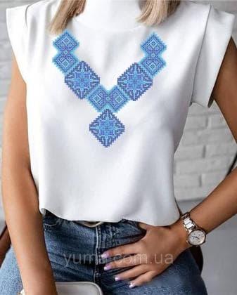 Пошита жіноча блузка  Лілея БЛ-32 ЮМА
