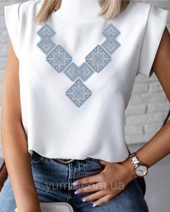 Пошита жіноча блузка  Лілея БЛ-33 ЮМА
