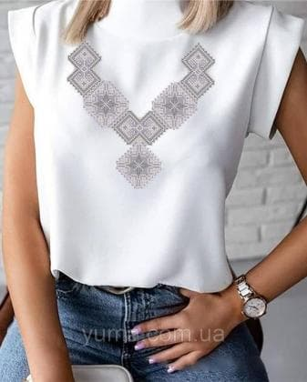 Пошита жіноча блузка  Лілея БЛ-34 ЮМА