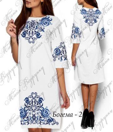 Заготовка плаття Плаття Богема-2 Магія Візерунку