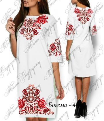 Заготовка плаття Плаття Богема-4 Магія Візерунку