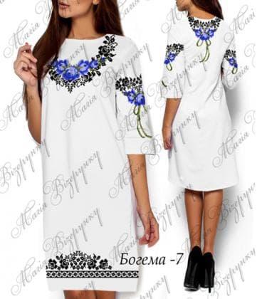 Заготовка плаття Плаття Богема-7 Магія Візерунку