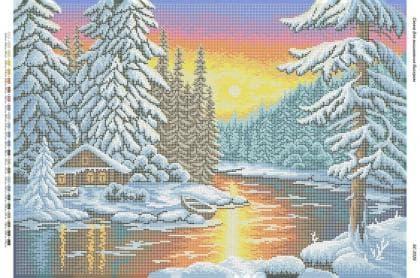 Зимовий пейзаж БС-2026 Сяйво БСР