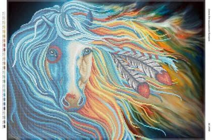 Веселковий кінь (част. Виш) БС-2048 Сяйво БСР