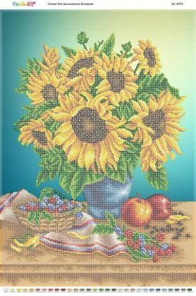 Натюрморт з соняшниками (част. виш.) БС-2073 Сяйво БСР