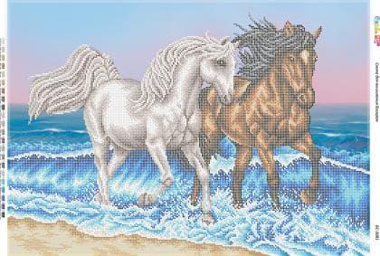 Коні біля моря БС-2081 Сяйво БСР