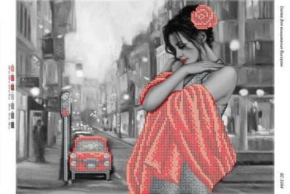 Дівчина в червоному БС-3164 Сяйво БСР