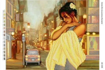 Дівчина в жовтому БС-3166 Сяйво БСР