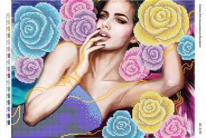Панночка в трояндах БС-3176 Сяйво БСР